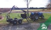 Vyvážečka s malotraktorem up