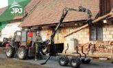Malotraktorová vyvážečka