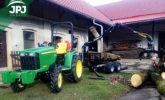 Malotraktorová vyvážecí souprava