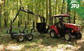 malotraktor a vyvážečka