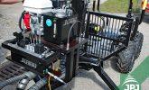 vyvážecí vlek a držák na hydraulickou jednotku
