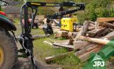 Hydraulická ruka VJ 500 za traktor