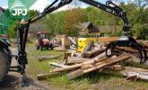 Hydraulická ruka VJ za traktor
