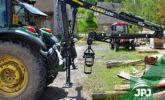 Hydraulická ruka Vahva Jussi za traktor