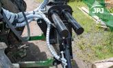 Zapojení hydraulické ruky Vahva Jussi za traktor